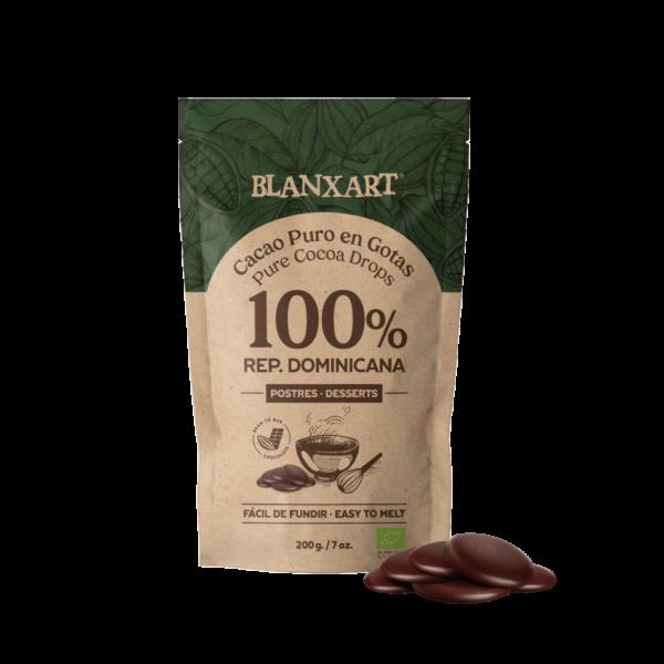 Cacao Puro en Gotas 100% República Dominicana ECO (200g)