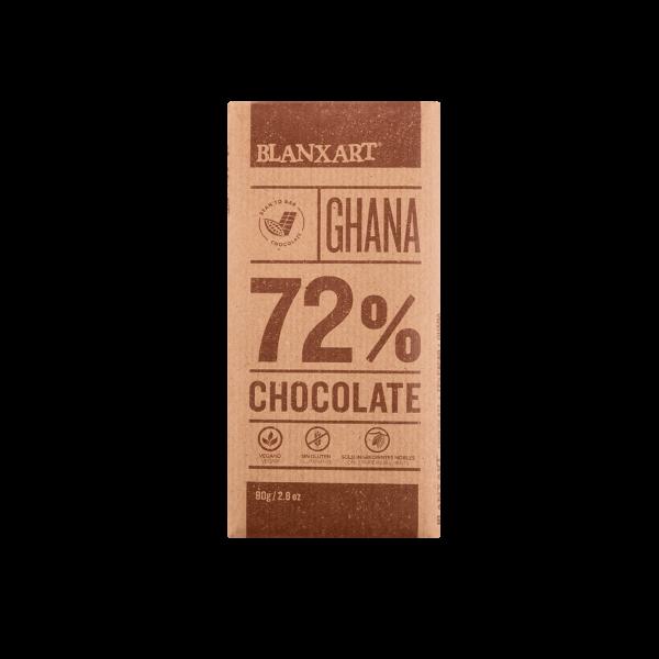 Chocolate 72% cacao Ghana (80g)