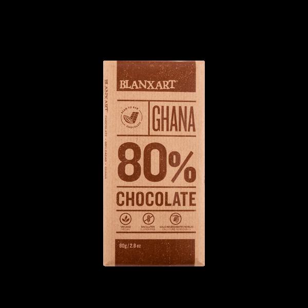 Chocolate 80% cacao Ghana (80g)
