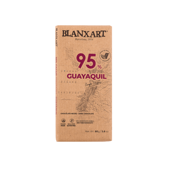 Chocolate 95% cacao Guayaquil (80g)