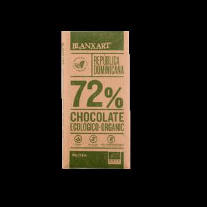 Chocolate Ecológico 72% cacao República Dominicana (80g)