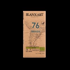Chocolate Ecológico 76% cacao Brasil (80g)