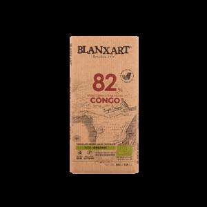 Chocolate Ecológico 82% cacao Congo (80g)