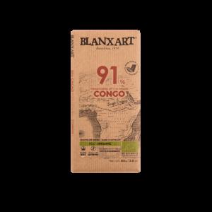 Chocolate Ecológico 91% cacao Congo (80g)