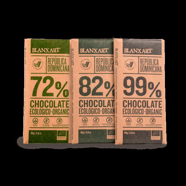Pack Chocolates Classic Origins Ecológicos (3 x 80g)